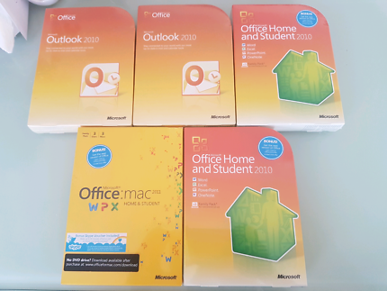 Microsoft Outlook, Office Home and Student & mac.