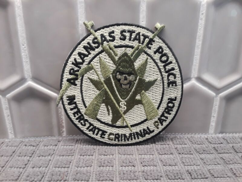 Arkansas State Police (ICP) - Highway Drug Interdiction patch (Rare Patch)