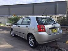2007 Toyota Corolla Hatchback Wetherill Park Fairfield Area Preview