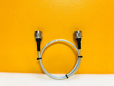 Midwest Microwave Csy-nmnm-42-024-is Dc To 18 Ghz Type N M-m Rf Test Cable.