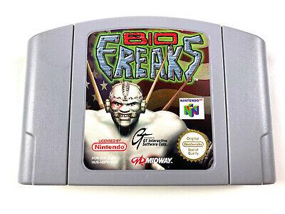 Bio Freaks - N64 Nintendo 64 PAL EUR
