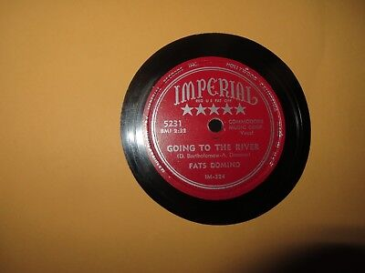 FATS DOMINO GOING TO THE RIVER/MARDI GRAS IN NEW ORLEANS 1953 IMPERIAL ERROR