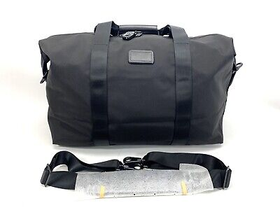 Tumi Small Soft Travel Satchel Ballistic Nylon Gym Duffel Weekend Bag Black