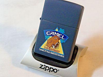 VINTAGE ZIPPO 1997 CAMEL 75TH BIRTHDAY - NEW-UNSTRUCK