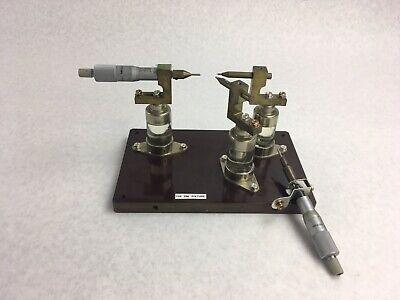 Mitutoyo Micrometer 0-25mm Metric Tool Range .01mm 705 Emi Fixture Tester