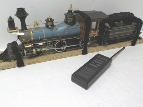 Bachmann Spectrum 81398 Narrow Gauge 4-4-0 D&RG Train Engineer & Sound G SCALE