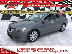 2013 Honda Accord Sedan EX-L, Automatic, Leather, Sunroof,