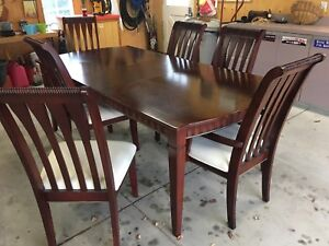 Dining Table and 6 Chairs - NEW PRICE!