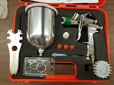 Spray Gun Hvlp 1.7mm New Demo For Use In Body Shops Industry And Woodwork New