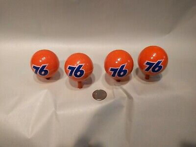 4X Union 76 Antenna Balls Topper Gas & Oil Collectible Topper New Old Stock - Antenna Toppers