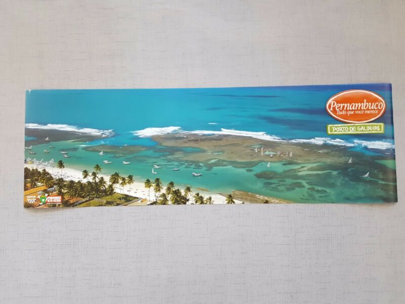 Pernambuco Brazil Travel Posters (2), Ages Unknown, pre-owned