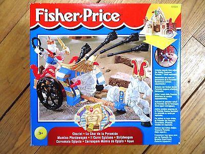 FISHER PRICE / CHARIOT - LE CHAR DE LA PYRAMIDE