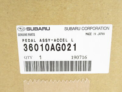 Genuine OEM Subaru 36010AG021 Accelerator Pedal Travel Position Sensor