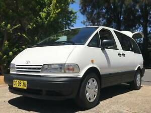2 Person automatic Campervan with FRIDGE   BED   KITCHEN   SINK Botany Botany Bay Area Preview