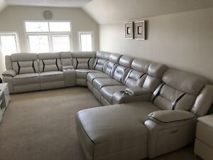 Power operated recliner couch for sale
