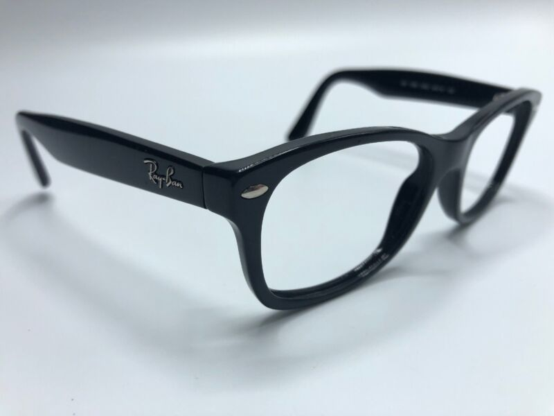 048a4cf6b694 Ray Ban 48mm Eyeglass Frames RB1528 3542 Matte Black Frames Only 0240