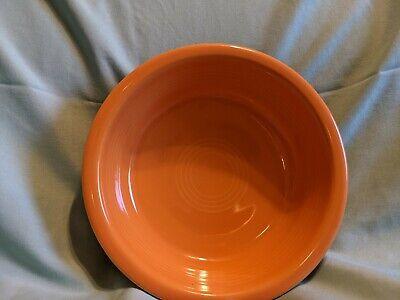 Fiestaware Cereal Soup Bowls Retired Tangerine Fiesta Orange 19 Oz