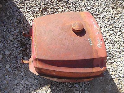 Massey Harris 30 Tractor Good Working Original Mh Gas Tank Cap Dent Free