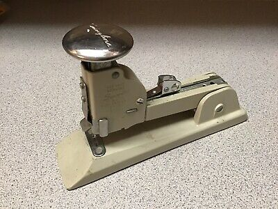Vintage Heavy Duty Gray Swingline 13 Stapler Desk Top