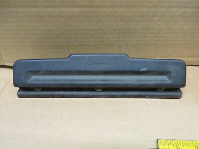 Swingline Acco 3 Hole Punch Adjustable Or Semi Adjustable Good Used