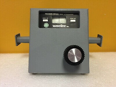 Waveline 722 Wr-62 12.4 To 18 Ghz Rotary Vane Waveguide Attenuator. Tested