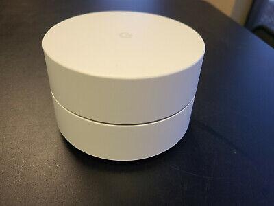 Google WiFi AC1200 Dual-Band Mesh Wi-Fi Point Router - GJ2CQ (No Power Cord)