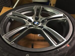 """BMW winter tires and wheels 18"""""""