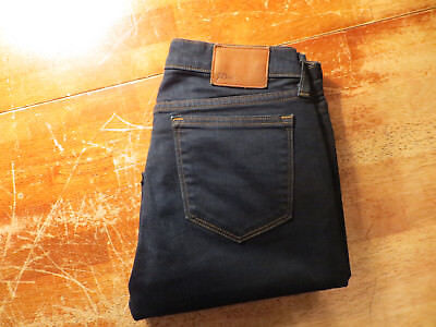J CREW TOOTHPICK ANKLE JEANS DARK BLUE WASH SIZE 28/ 29 X 28 VERY NICE