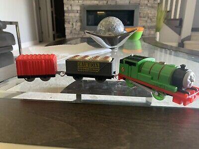 Thomas & Friends TRACKMASTER PERCY Motorized Train Cars Cargo 2013