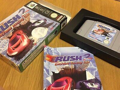 Rush 2 Extreme Racing USA - N64 Nintendo 64