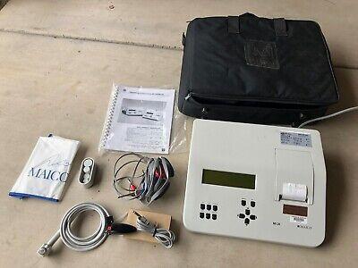 Maico Mi 26 Tympanometeraudiometer Combo W Current Calibration Certificate