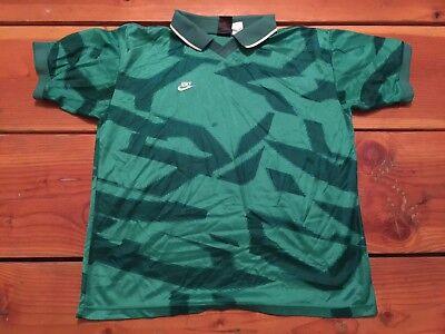 3074b43407d Vintage🔥 Nike Premier Mexico Goalkeeper Jersey Short Sleeve Jorge Campos  Sz L
