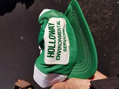 vintage holloway green cap     -
