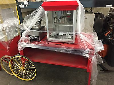 Popcorn Cart With Butter Maker