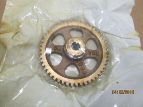 """NEW OTHER, BOSTON D1145 BRONZE WORM GEAR, 16 DP, 50 TEETH, 3/8"""" BORE."""