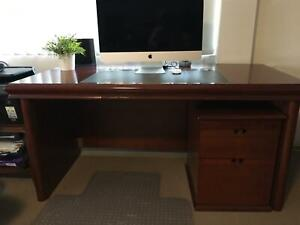 Executive Desk with Cradenza and Filing cabinet Manly West Brisbane South East Preview