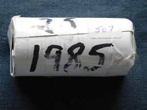 2-46 - 1985 CANADA ROLL OF COMMON NICKLE DOLLARS.