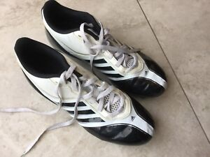 Football shoes/ cleats pants/ horse collar all lightly used.