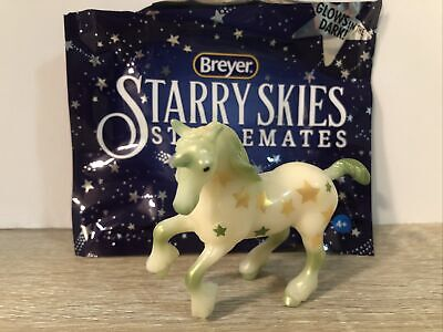 "Breyer Stablemates Green ""Big Dipper"" Starry Skies Unicorn Web Special #712310"