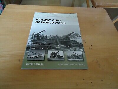 @@@ RAILWAY GUNS OF WORLD WAR II NEW VANGUARD OSPREY BRAND NEW @@@