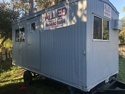 2015 20x8 Mobile Office - Office Trailer - Tiny Home Storage Shed