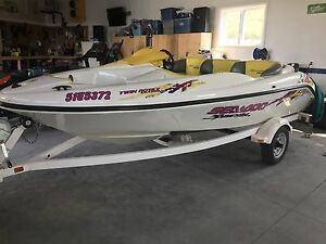 SEADOO SPEEDSTER w/ Twin Rotax Engines - Excellent Condition