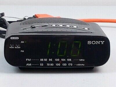 Sony ICF-C212 Dream Machine FM/AM Radio Alarm Clock Tested