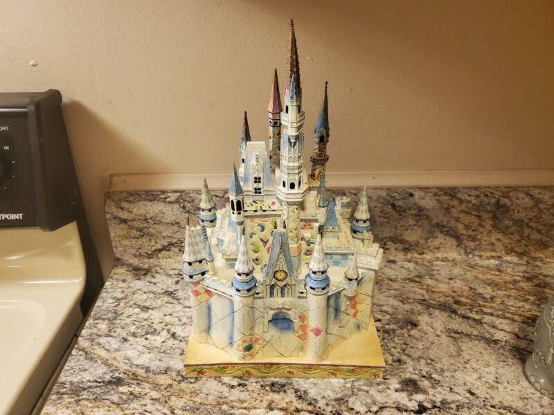 Jim Shore Disney World Exclusive Cinderella Castle of Dreams Magic Kingdom