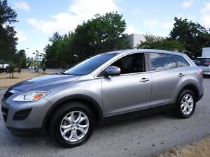 2012 Mazda CX-9 Touring AWD With 3rd Row Seating