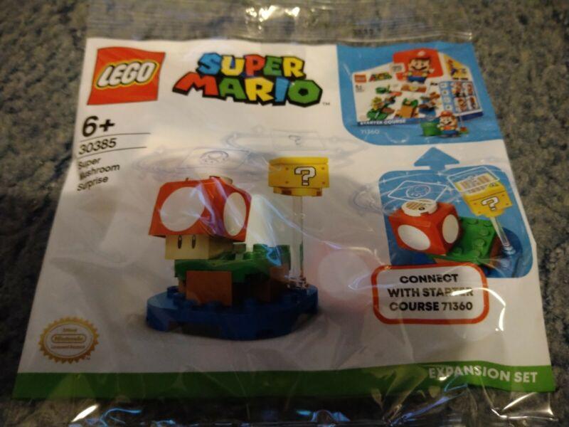 Lego+Super+Mario+303865+Super+Mushroom+Surprise+polybag+NEW+SEALED+2020