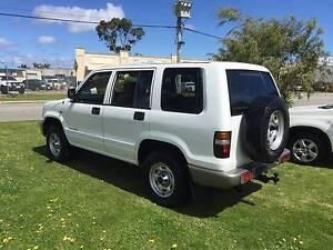 2001 Holden Jackaroo 4x4 TURBO DIESEL Wagon **7-SEATER** MANUAL!! East Rockingham Rockingham Area Preview