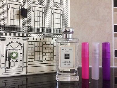 JO MALONE PEONY & BLUSH SUEDE COLOGNE IN A NEW 5ML PLASTIC SAMPLE ATOMISER