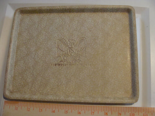 Northwest Orient Airlines Plastic Serving Tray