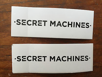 Secret Machines promo sticker for Now Here is Nowhere cd two stickers